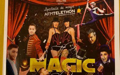 magie au telethon à Villebon sur Yvette